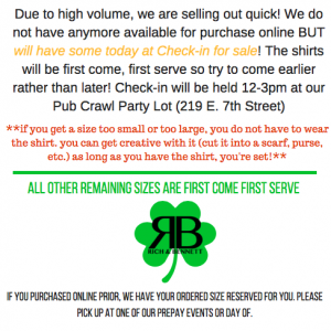 welcome to the official page of rich bennetts 18th annual st patricks day pub crawl pub crawl season is unlike any other in the city of charlotte